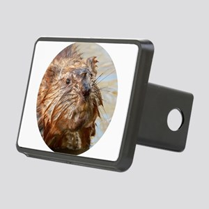 Muskrat in the Muck Rectangular Hitch Cover