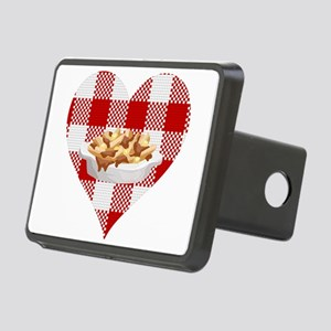 love poutine Rectangular Hitch Cover