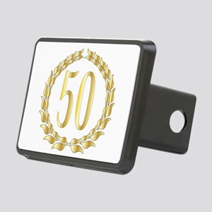 50th Anniversary Rectangular Hitch Cover