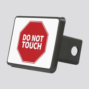 Do Not Touch, STOP Rectangular Hitch Cover