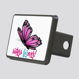 sisters forever Rectangular Hitch Cover