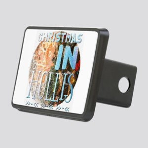 Christmas in Hollis Rectangular Hitch Cover