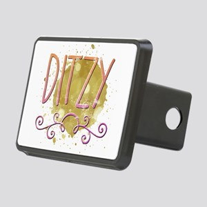 Ditzy Rectangular Hitch Cover
