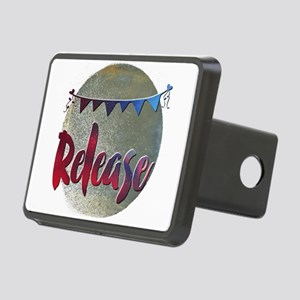 Release Rectangular Hitch Cover
