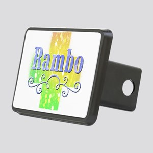 Rambo Rectangular Hitch Cover