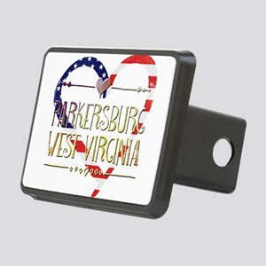 Parkersburg West Virginia Rectangular Hitch Cover