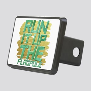 Run it up Run it up the f Rectangular Hitch Cover