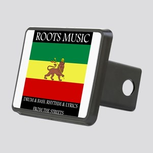 Roots-Music-Flag-Ethiopia Rectangular Hitch Cover