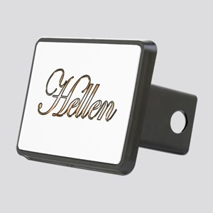Gold Hellen Rectangular Hitch Cover
