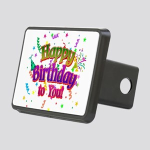 Happy Birthday To You Rectangular Hitch Cover