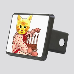Cat Candles Rectangular Hitch Cover