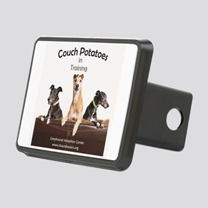 Couch Potatoes Rectangular Hitch Cover