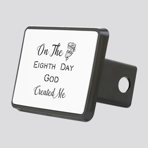 On The Eighth Day God Crea Rectangular Hitch Cover