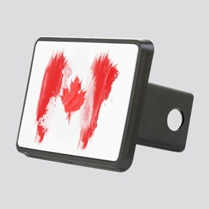 Canada Flag Canadian Rectangular Hitch Cover