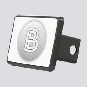 B Golf Ball - Monogram Gol Rectangular Hitch Cover