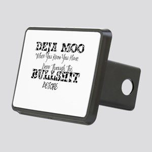 deja moo Rectangular Hitch Cover