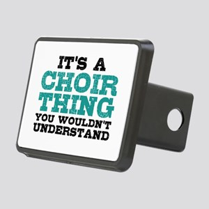 It's a Choir Thing Rectangular Hitch Cover