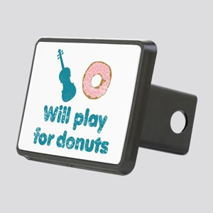 Will Play for Donuts Rectangular Hitch Cover