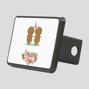 I'm Nuts About You Rectangular Hitch Cover