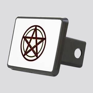 Neon Pentacle Rectangular Hitch Cover