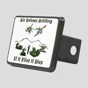 Air Defense Artillery If I Rectangular Hitch Cover
