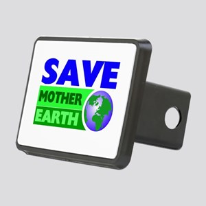 Earth day Rectangular Hitch Cover