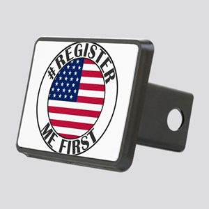 register me first Rectangular Hitch Cover