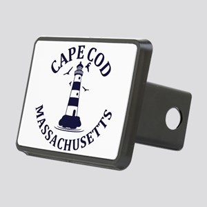Summer cape cod- massachus Rectangular Hitch Cover