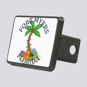 Summer fort myers- florida Rectangular Hitch Cover
