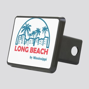 Mississippi - Long Beach Rectangular Hitch Cover