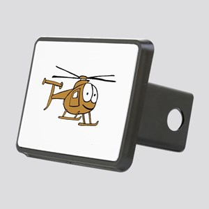 OH-6Tan Rectangular Hitch Cover