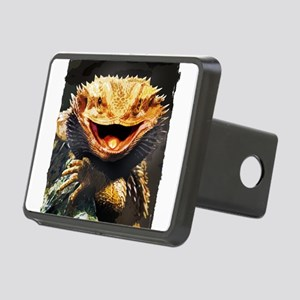 Grotesque Bearded Dragon L Rectangular Hitch Cover