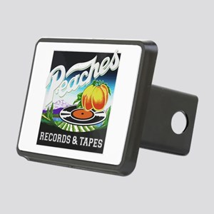 Peaches Records and Tapes Rectangular Hitch Cover