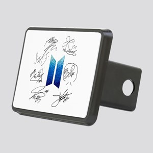BTS Logo and Autugraphs Rectangular Hitch Cover