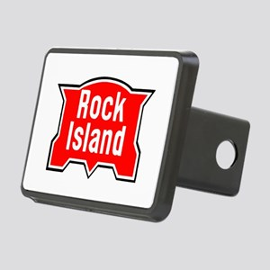 Rock Island Railway Rectangular Hitch Cover