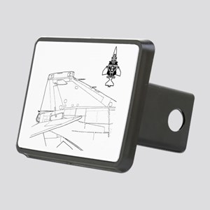 f4logoGR01 Rectangular Hitch Cover