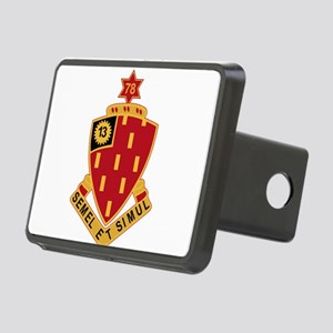 78th Field Artillery Regim Rectangular Hitch Cover