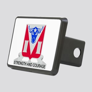 82d Engineer Battalion Rectangular Hitch Cover
