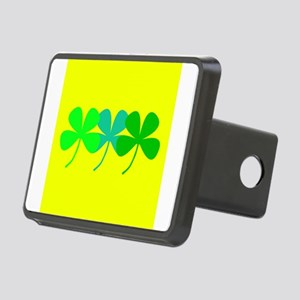 Yellow Green Hues St. Patr Rectangular Hitch Cover