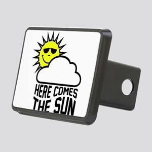 Here Comes The Sun Rectangular Hitch Cover