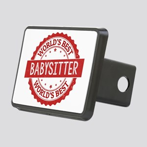 World's Best Babysitter Rectangular Hitch Cover