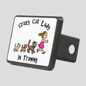 Crazy Cat Lady Trainee Rectangular Hitch Cover