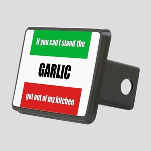 Italy Garlic Rectangular Hitch Cover