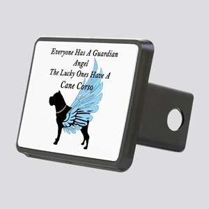 cane corso guardian angel Hitch Cover