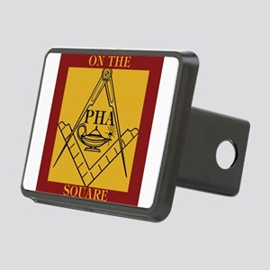 PHA on the square. Rectangular Hitch Cover