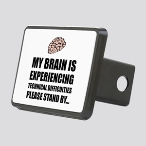 Brain Technical Difficulties Hitch Cover
