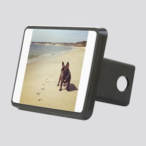 French Bulldog on the Beach Hitch Cover