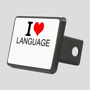 I Love Languages Hitch Cover