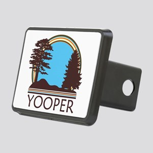 Vintage Retro Yooper Rectangular Hitch Cover