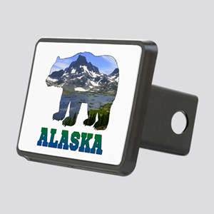 Alaskan Bear Rectangular Hitch Cover